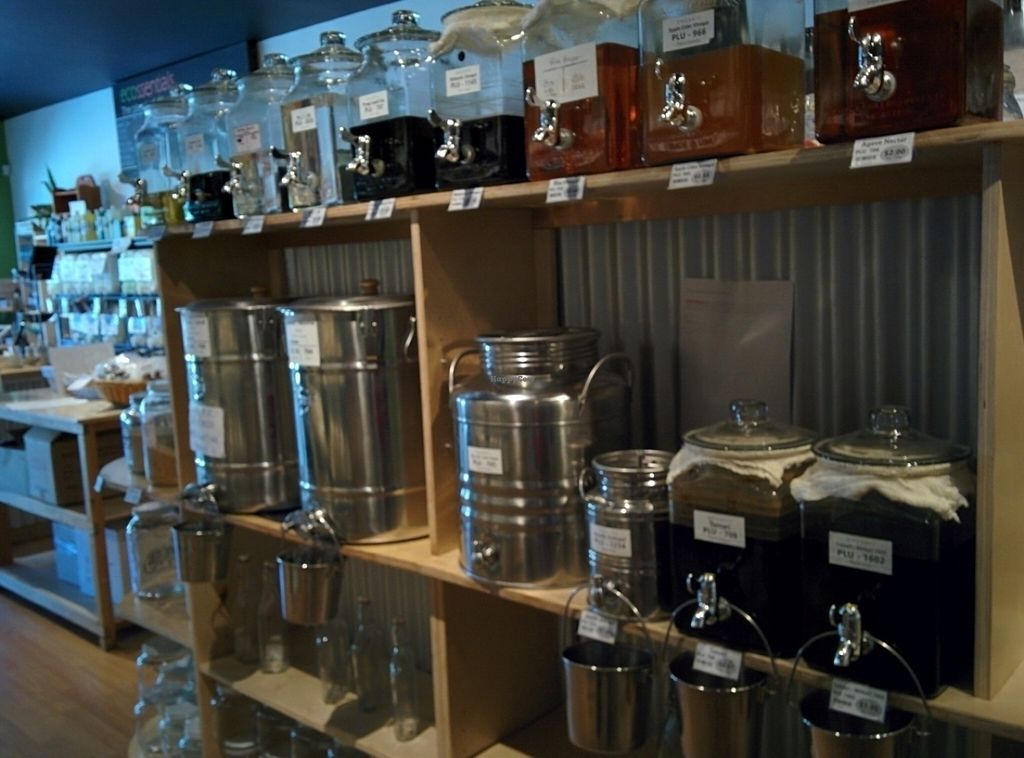 """Photo of Ecossentials  by <a href=""""/members/profile/CLRtraveller"""">CLRtraveller</a> <br/>some of the bulk section at Ecossentials, Powell River <br/> July 16, 2016  - <a href='/contact/abuse/image/76642/160319'>Report</a>"""