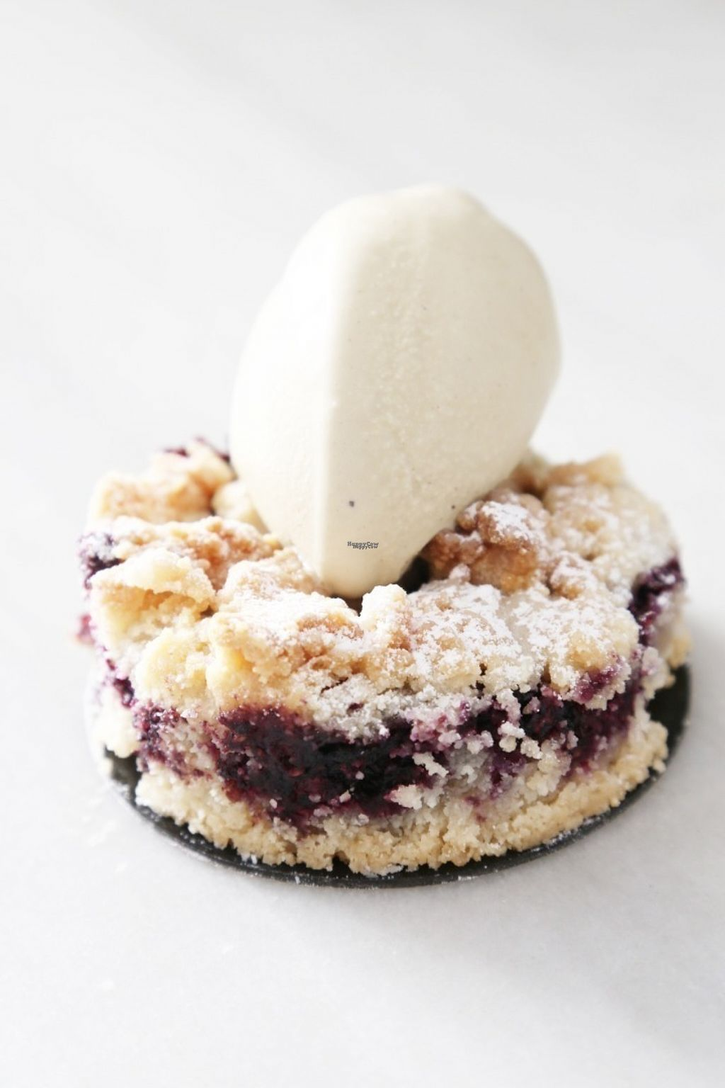 """Photo of Uay Balam  by <a href=""""/members/profile/FaustoLuna"""">FaustoLuna</a> <br/>Vegan and gluten free almond flour crumble with gelato on top. No, you are not dreaming. This is real <br/> August 7, 2016  - <a href='/contact/abuse/image/76645/166694'>Report</a>"""