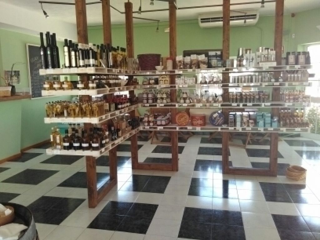"""Photo of Earth Shop and Cafe  by <a href=""""/members/profile/awaithelp"""">awaithelp</a> <br/>unusual specialities include smoked salt and truffles <br/> July 17, 2016  - <a href='/contact/abuse/image/76669/160512'>Report</a>"""