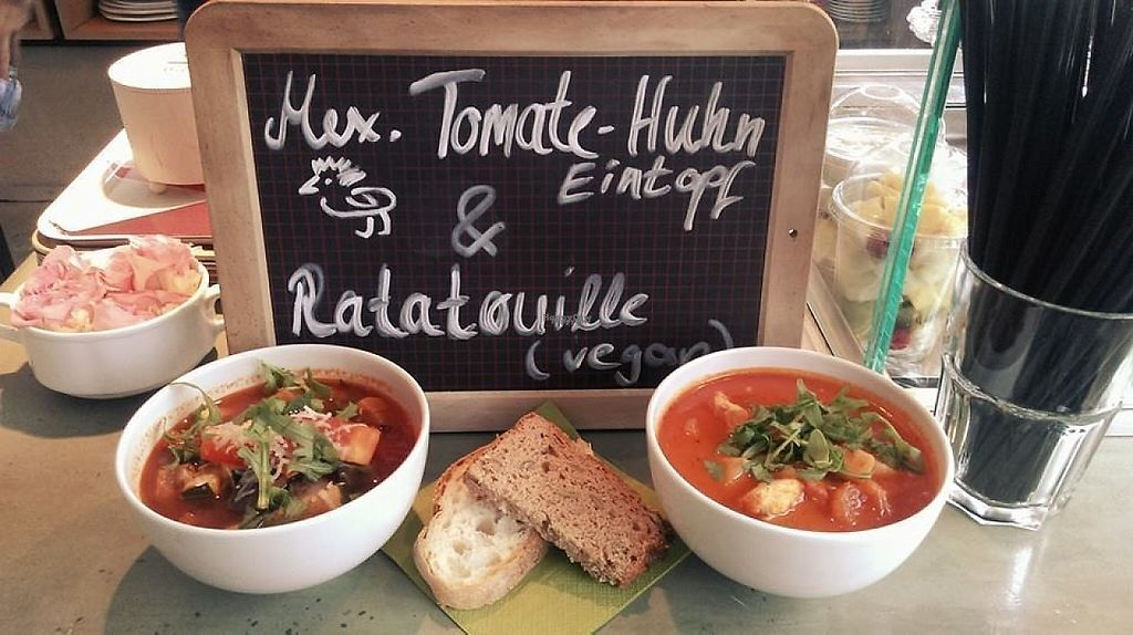 """Photo of Cafe Blumen  by <a href=""""/members/profile/community"""">community</a> <br/>tomato soup <br/> February 17, 2017  - <a href='/contact/abuse/image/76670/227380'>Report</a>"""
