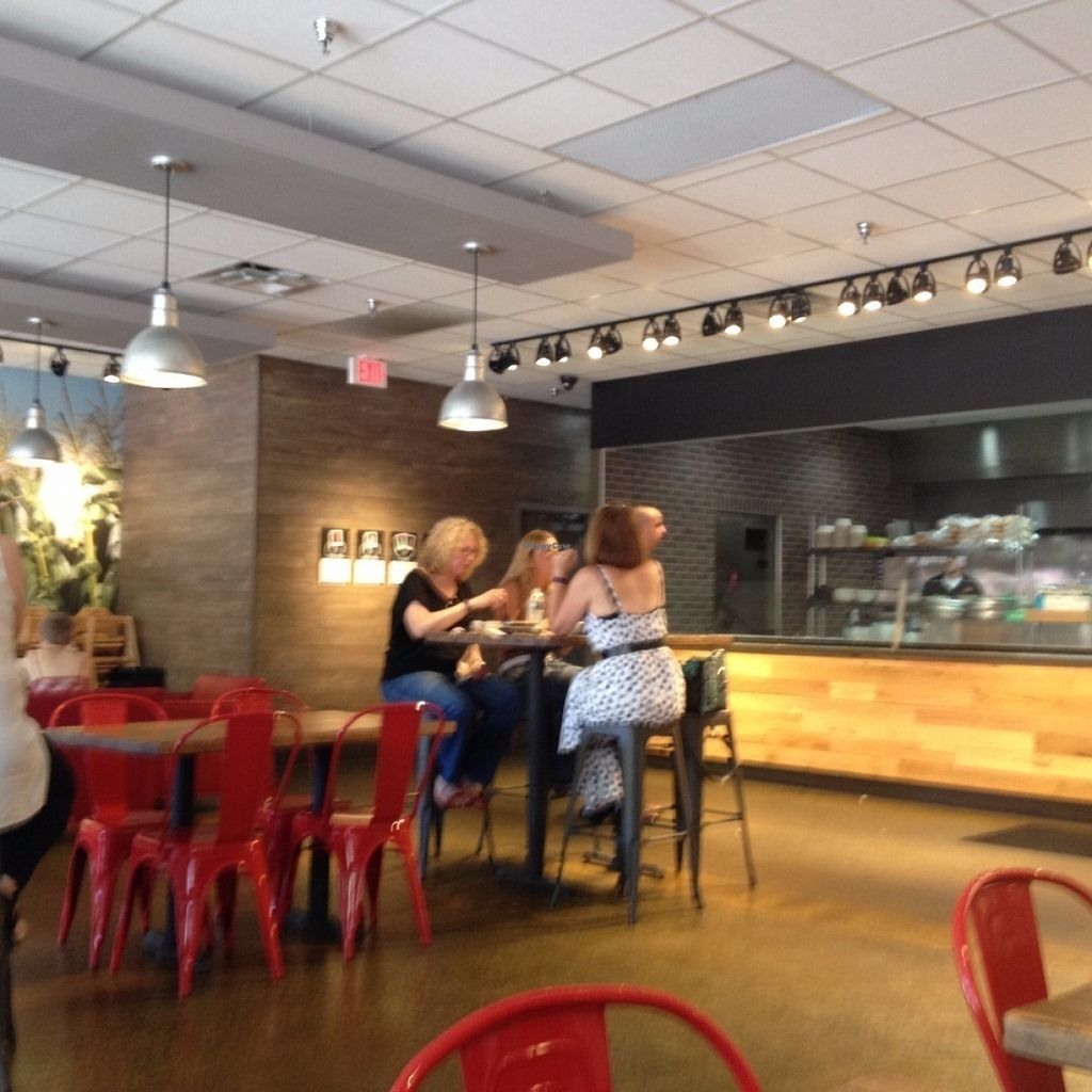 """Photo of b.good  by <a href=""""/members/profile/sophiefrenchfry"""">sophiefrenchfry</a> <br/>Inside of restaurant <br/> July 31, 2016  - <a href='/contact/abuse/image/76694/163952'>Report</a>"""
