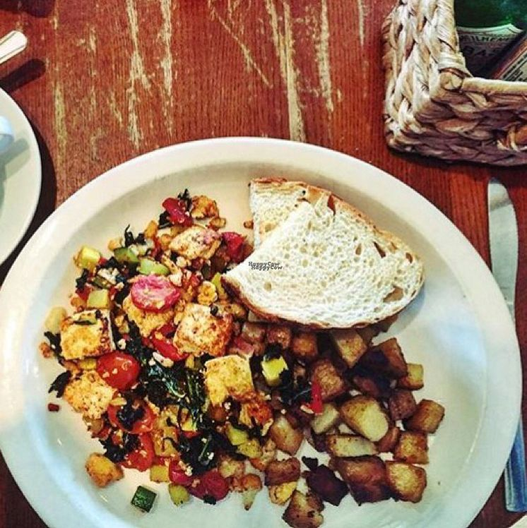 """Photo of Pickle Jar Kitchen  by <a href=""""/members/profile/Lemonadrianne"""">Lemonadrianne</a> <br/>Tofu Scramble <br/> September 12, 2016  - <a href='/contact/abuse/image/76700/175162'>Report</a>"""