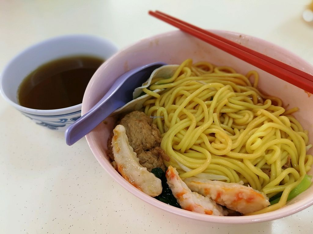 """Photo of Jixiang Vegetarian  by <a href=""""/members/profile/JunXuan"""">JunXuan</a> <br/>nice prawn noodles every Wednesday <br/> April 18, 2018  - <a href='/contact/abuse/image/76708/387504'>Report</a>"""