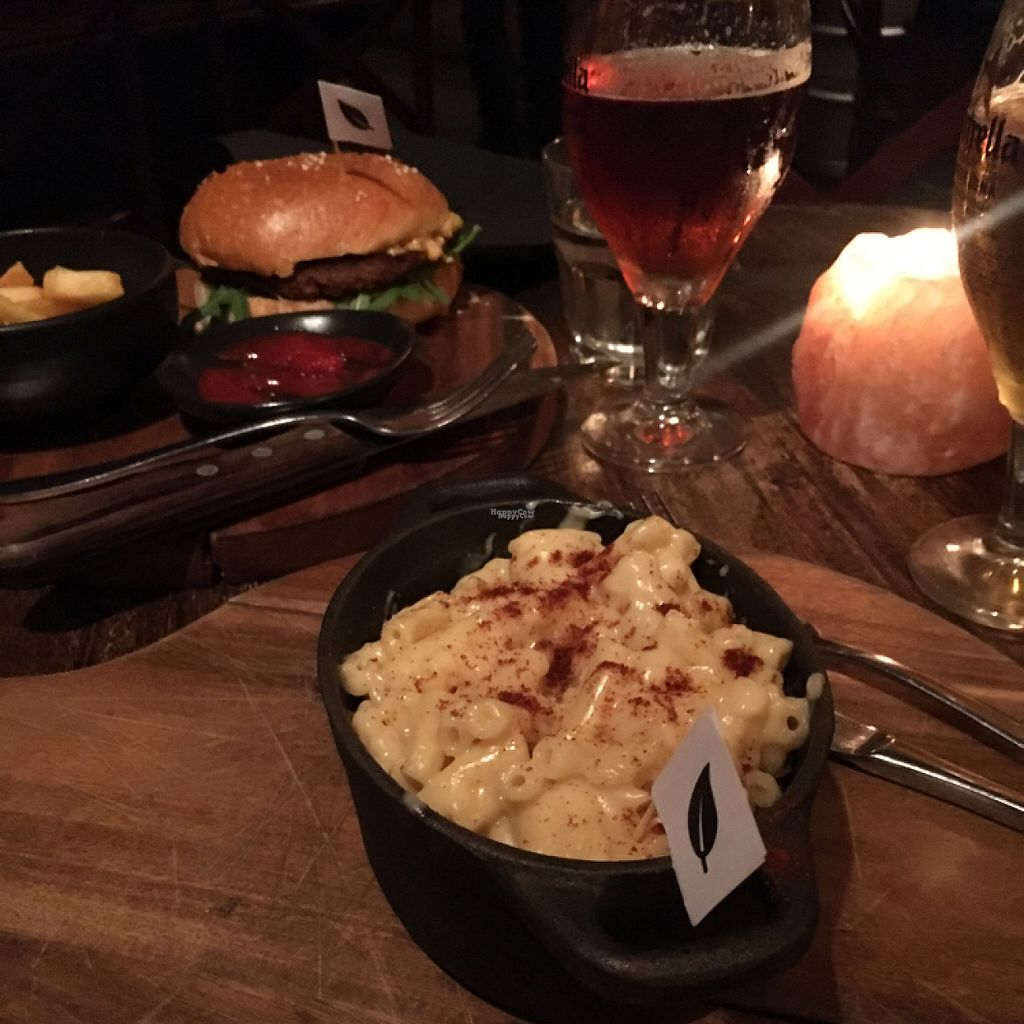 """Photo of The Hold  by <a href=""""/members/profile/SeitanSeitanSeitan"""">SeitanSeitanSeitan</a> <br/>Vegan mac and cheese <br/> November 27, 2016  - <a href='/contact/abuse/image/76715/195035'>Report</a>"""
