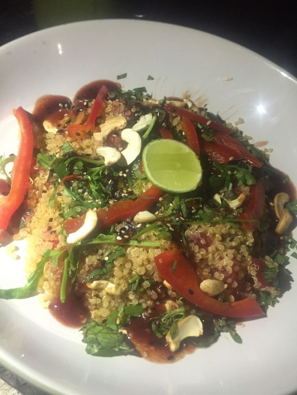 """Photo of Mowie's   by <a href=""""/members/profile/rodgo"""">rodgo</a> <br/>Quinoa salad  <br/> July 18, 2016  - <a href='/contact/abuse/image/76717/160576'>Report</a>"""
