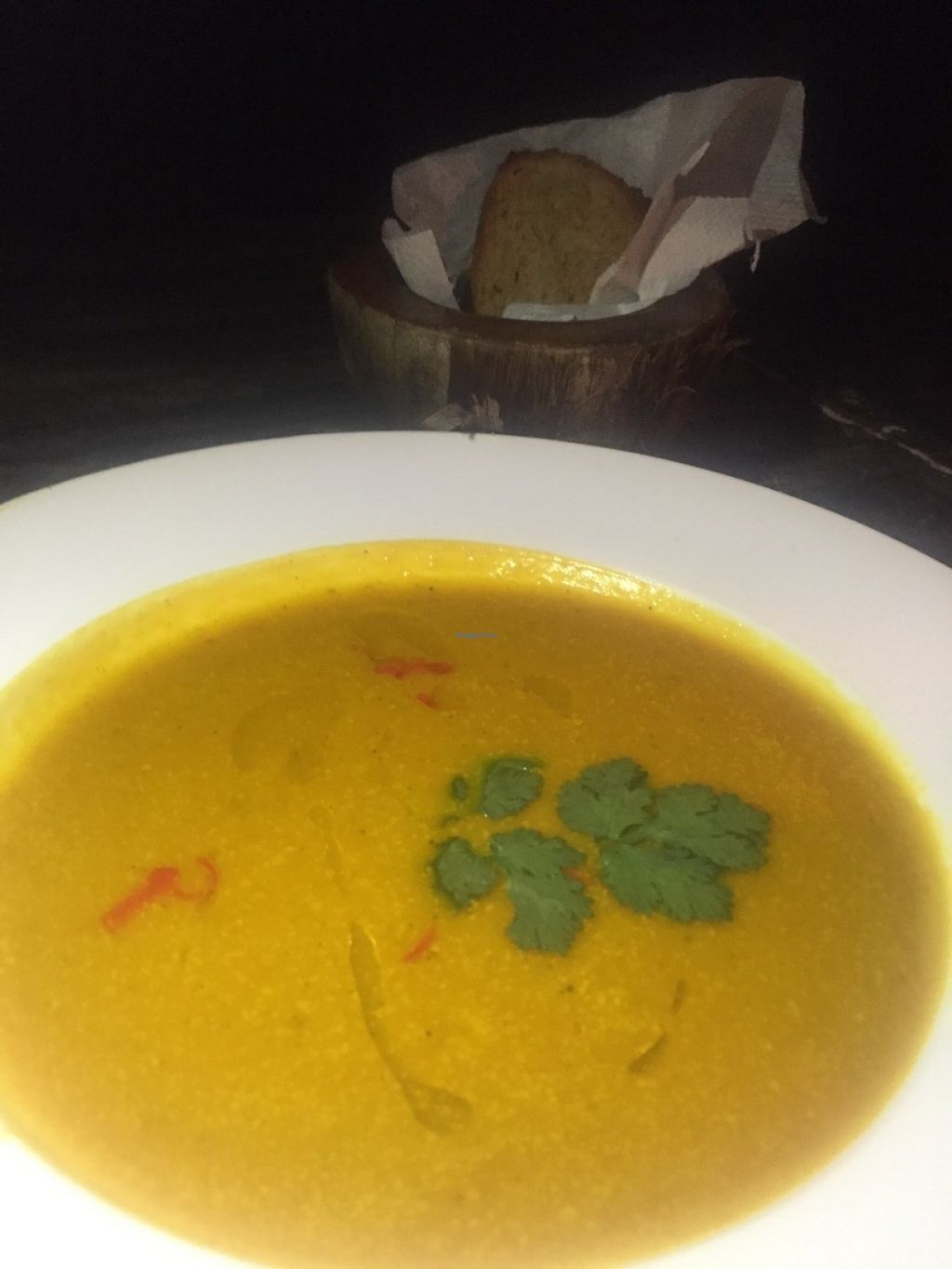 """Photo of Mowie's   by <a href=""""/members/profile/rodgo"""">rodgo</a> <br/>Pumpkin soup  <br/> July 18, 2016  - <a href='/contact/abuse/image/76717/160577'>Report</a>"""