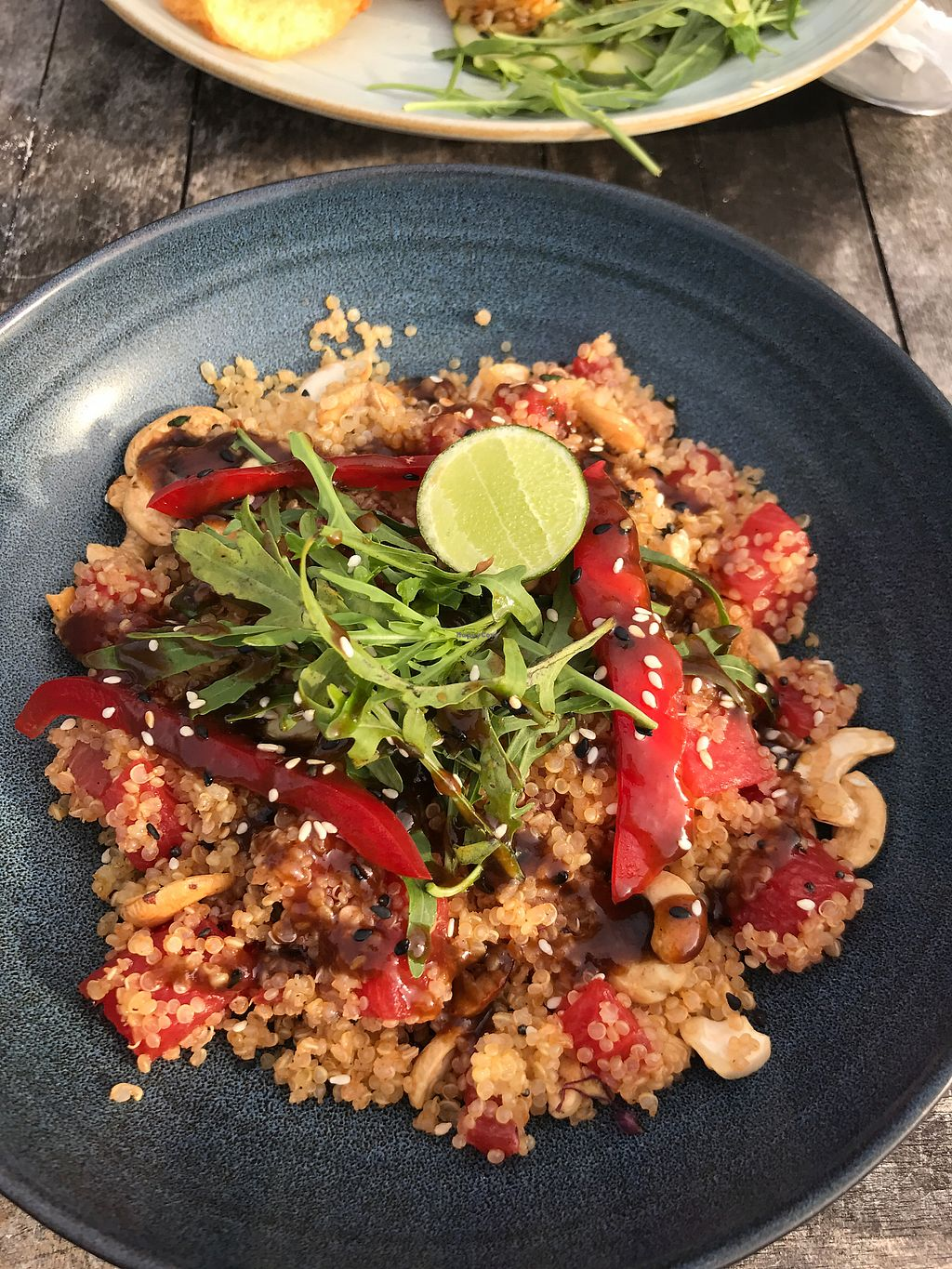 """Photo of Mowie's   by <a href=""""/members/profile/LolaNachtigall"""">LolaNachtigall</a> <br/>Quinoa Salad - vg & gf <br/> November 17, 2017  - <a href='/contact/abuse/image/76717/326375'>Report</a>"""