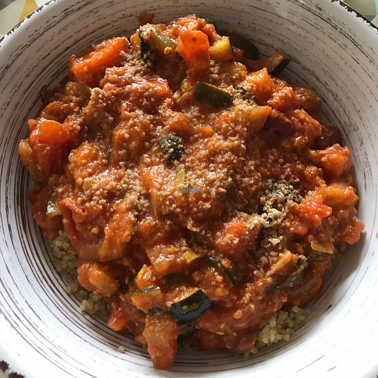 """Photo of L'Eden Sans Gluten  by <a href=""""/members/profile/DominikB"""">DominikB</a> <br/>Quinoa meal <br/> October 6, 2016  - <a href='/contact/abuse/image/76725/180062'>Report</a>"""