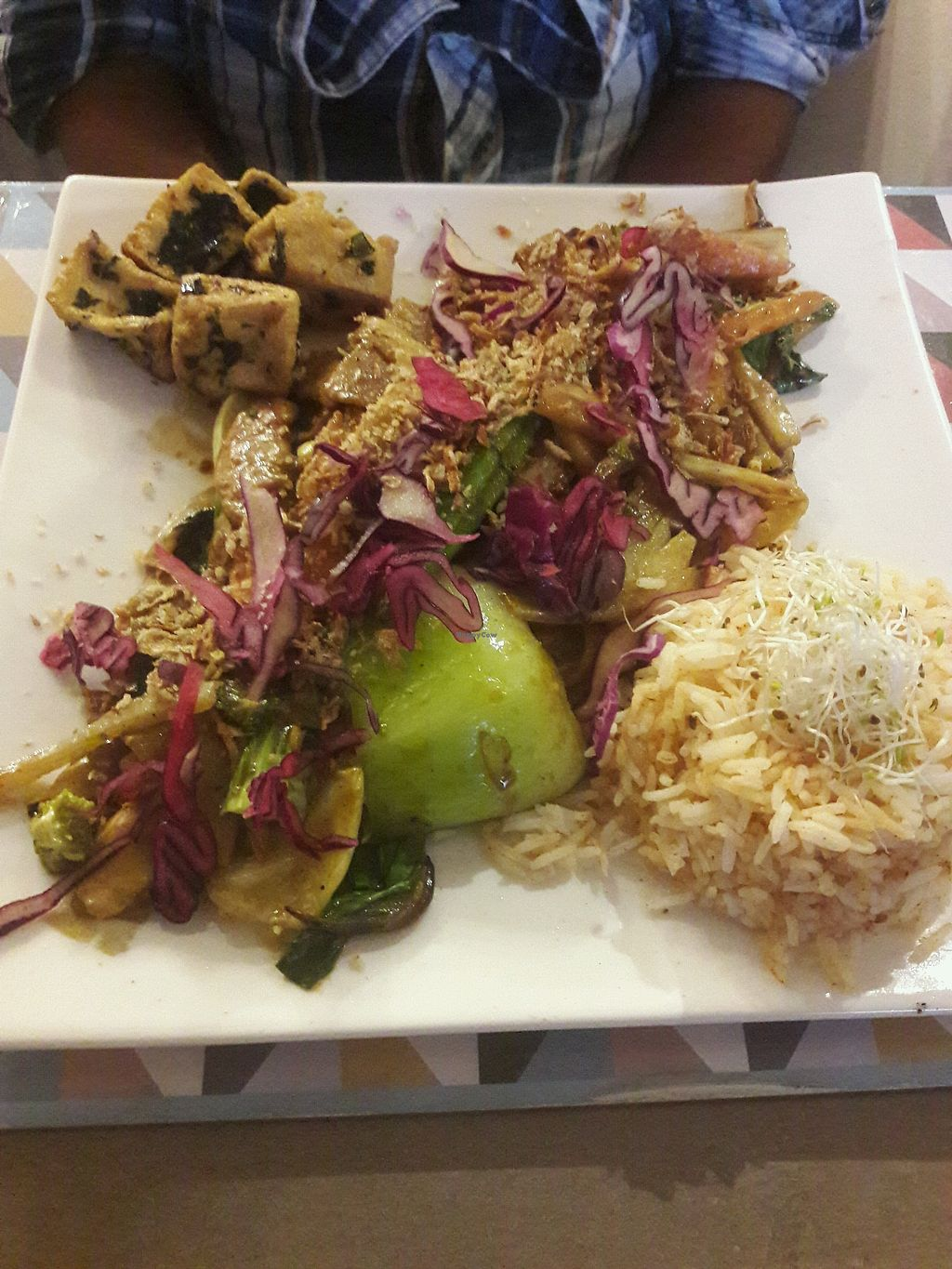 """Photo of L'Eden Sans Gluten  by <a href=""""/members/profile/SportifVegan"""">SportifVegan</a> <br/>wok  <br/> May 14, 2018  - <a href='/contact/abuse/image/76725/399679'>Report</a>"""