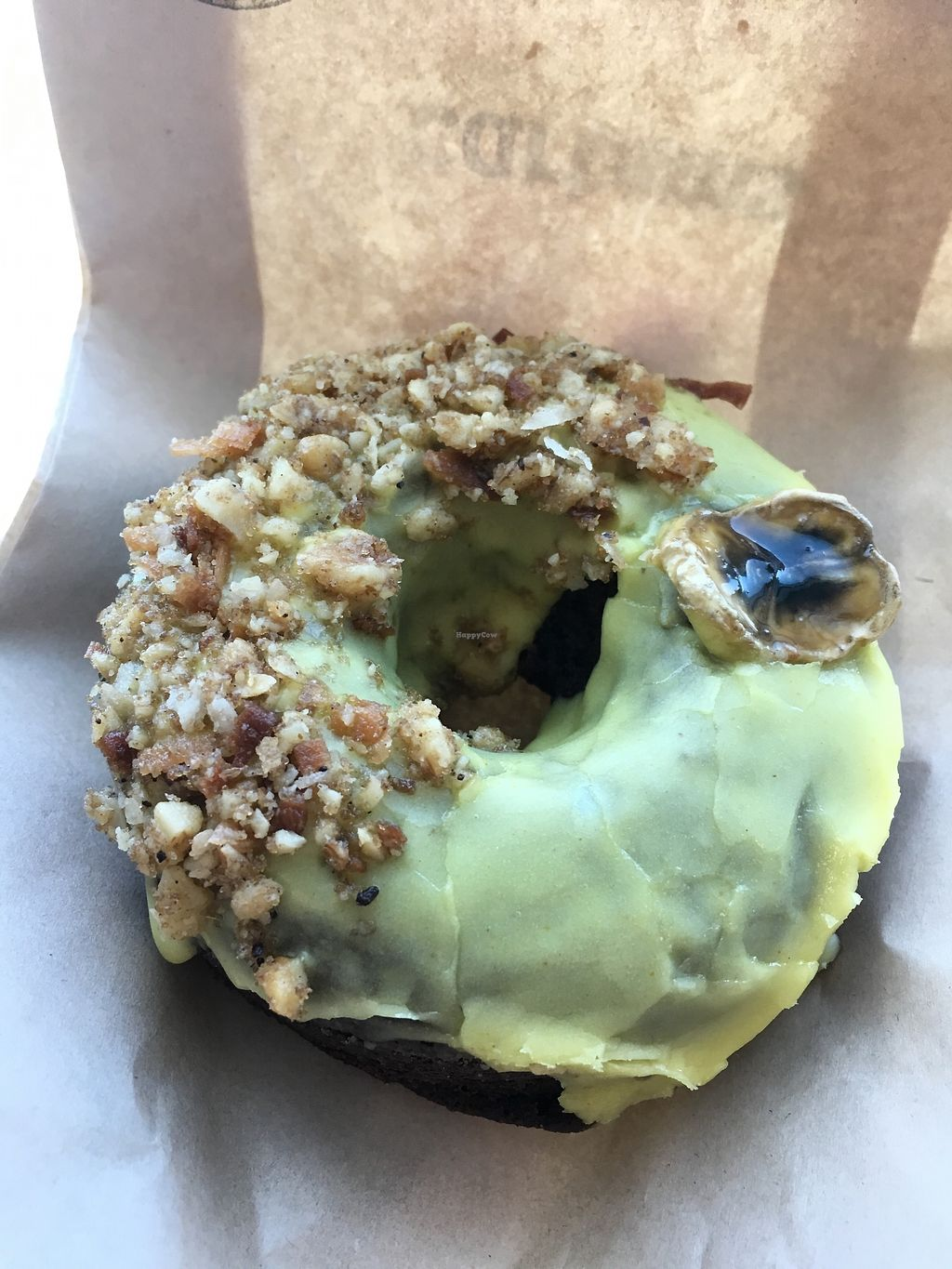 "Photo of Cartems Donuterie - Kitsilano  by <a href=""/members/profile/vegan%20frog"">vegan frog</a> <br/>Banana donut <br/> August 5, 2017  - <a href='/contact/abuse/image/76735/288925'>Report</a>"