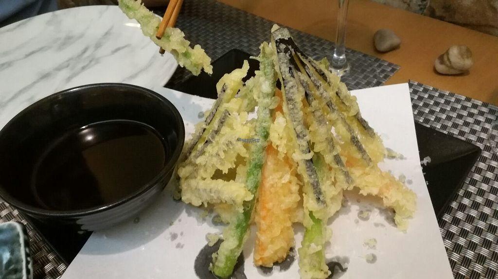 "Photo of Yamazaki Sushi  by <a href=""/members/profile/JM73"">JM73</a> <br/>Vegan tempura <br/> August 1, 2016  - <a href='/contact/abuse/image/76744/164109'>Report</a>"