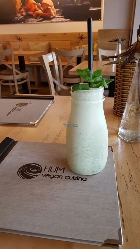 "Photo of Hum Vegan Cuisine  by <a href=""/members/profile/doamazing"">doamazing</a> <br/>Mint Shake <br/> October 26, 2016  - <a href='/contact/abuse/image/76745/184496'>Report</a>"