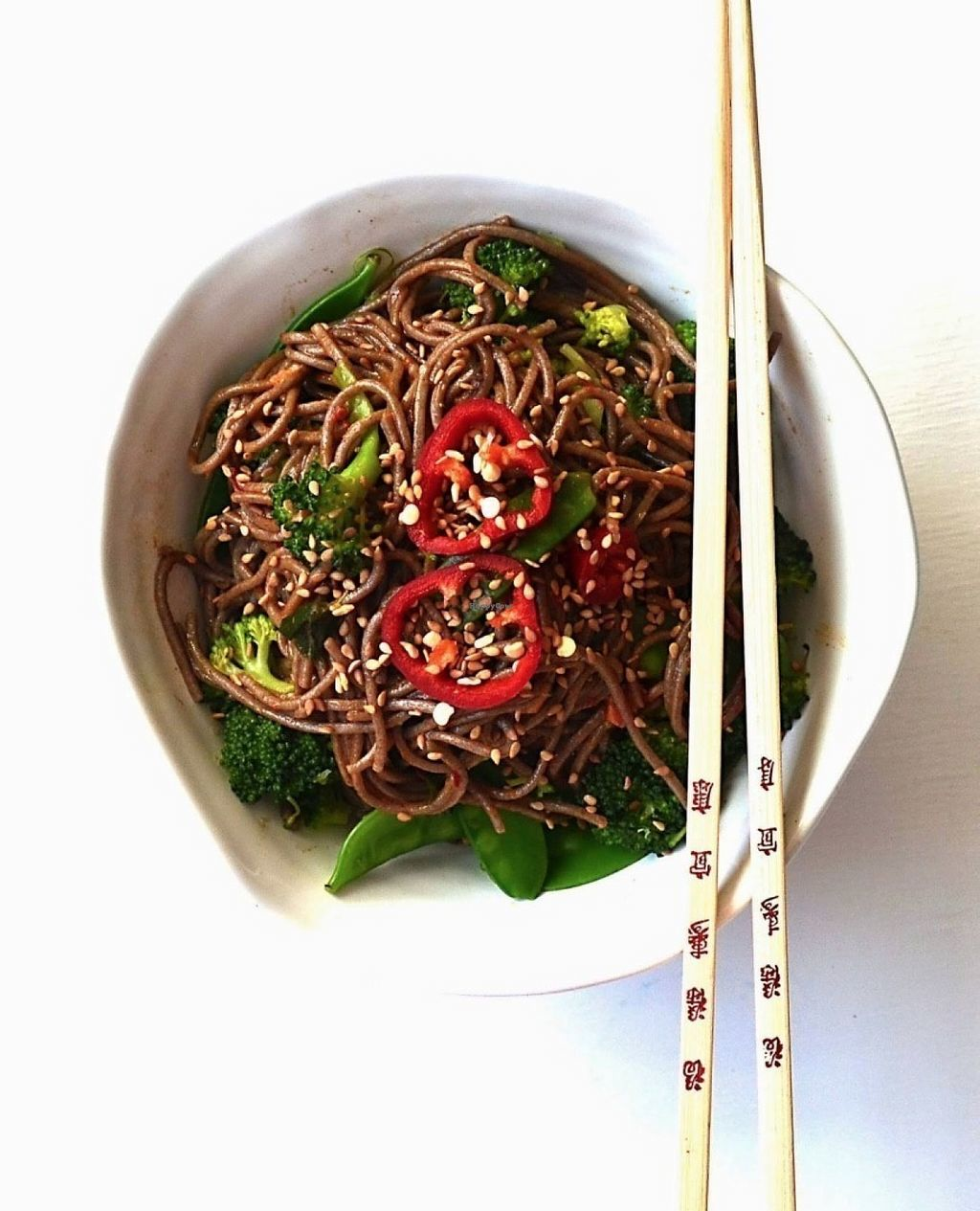 """Photo of VeganJa  by <a href=""""/members/profile/community"""">community</a> <br/>soba noodles  <br/> July 25, 2016  - <a href='/contact/abuse/image/76749/162098'>Report</a>"""