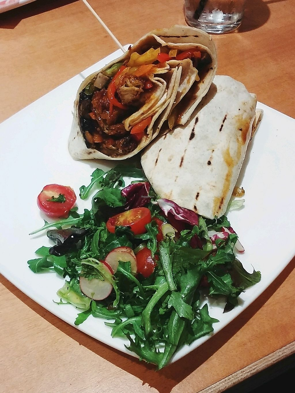 """Photo of Steak Cattle & Roll - Sauchiehall St  by <a href=""""/members/profile/unmond"""">unmond</a> <br/>Vegan Veggie Wrap <br/> October 28, 2017  - <a href='/contact/abuse/image/76751/319559'>Report</a>"""