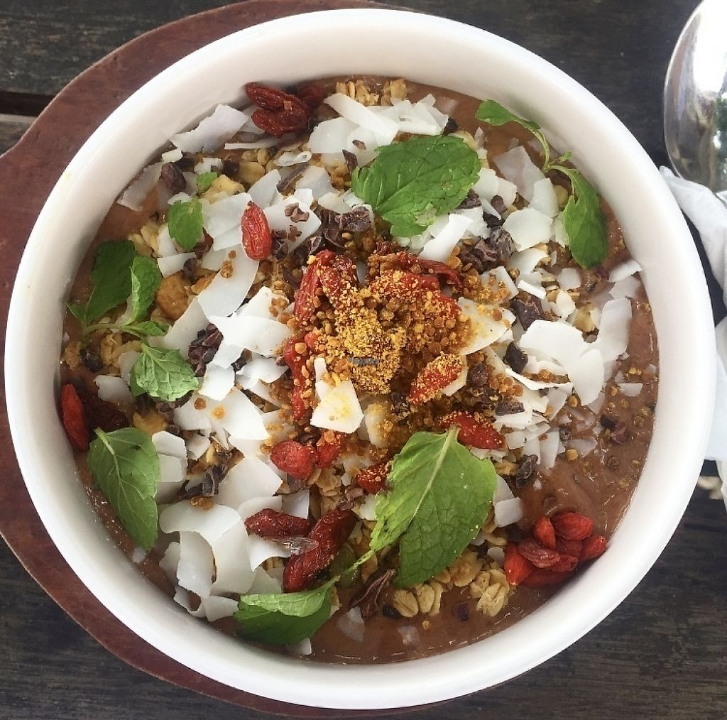 "Photo of The Shady Shack  by <a href=""/members/profile/tamarabrooke"">tamarabrooke</a> <br/>Cacao dreams smoothie bowl (w/extras) <br/> December 15, 2016  - <a href='/contact/abuse/image/76760/201332'>Report</a>"