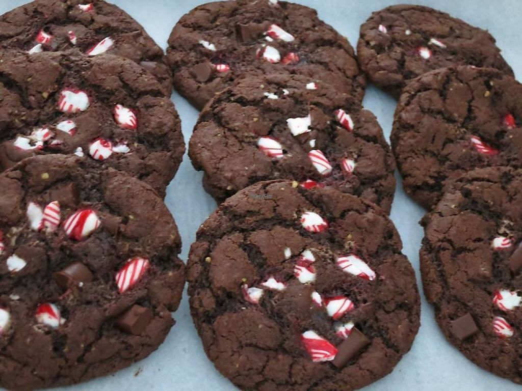 "Photo of Fuller Confections - Stall  by <a href=""/members/profile/community"">community</a> <br/>Vegan Chocolate Chunk Cookies <br/> March 2, 2017  - <a href='/contact/abuse/image/76767/231859'>Report</a>"