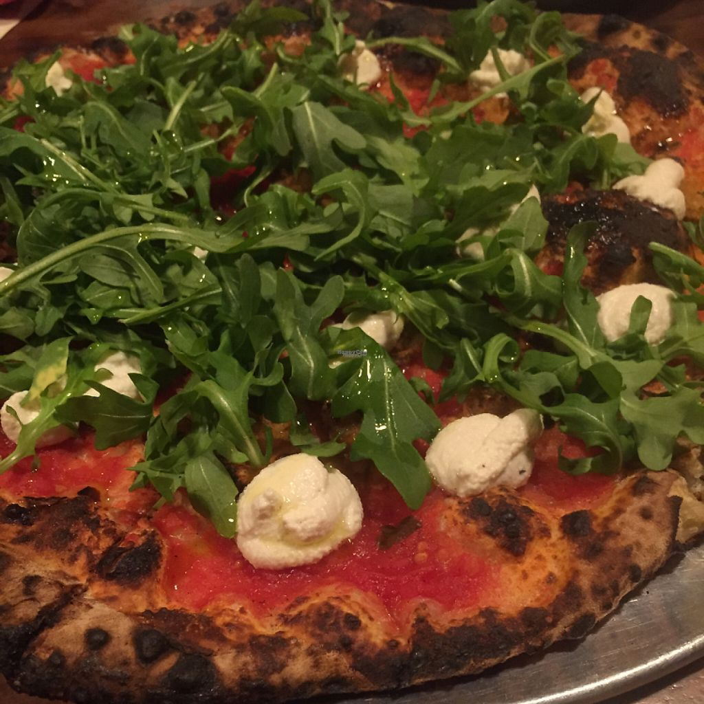 """Photo of Paulie Gee's  by <a href=""""/members/profile/happycowgirl"""">happycowgirl</a> <br/>Ricotta Da Vegan pizza  <br/> February 19, 2017  - <a href='/contact/abuse/image/76768/228082'>Report</a>"""