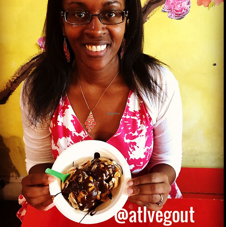 """Photo of Revolution Gelato  by <a href=""""/members/profile/calamaestra"""">calamaestra</a> <br/>espresso gelato with hot fudge and caramel sauce  <br/> June 12, 2017  - <a href='/contact/abuse/image/76781/268293'>Report</a>"""