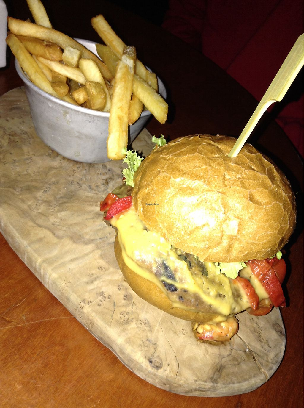 """Photo of The Deaf Institute Bar and Kitchen  by <a href=""""/members/profile/proudapples"""">proudapples</a> <br/>Seitan Burger  <br/> October 24, 2017  - <a href='/contact/abuse/image/76794/318351'>Report</a>"""