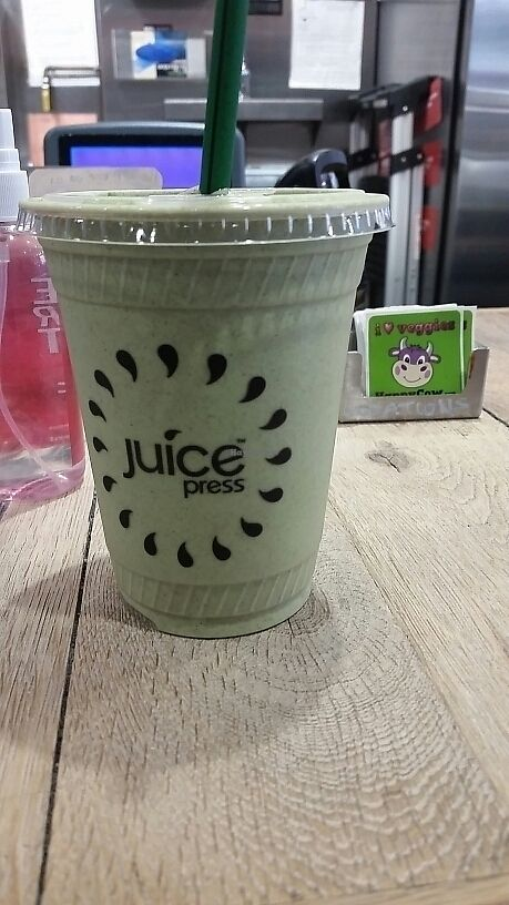 "Photo of Juice Press - Hell's Kitchen  by <a href=""/members/profile/eric"">eric</a> <br/>clean green protein <br/> June 12, 2017  - <a href='/contact/abuse/image/76815/268427'>Report</a>"