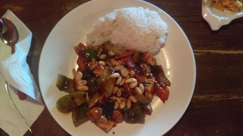 """Photo of Rice Box  by <a href=""""/members/profile/englishfate"""">englishfate</a> <br/>This is the Kung Pao tofu <br/> August 31, 2016  - <a href='/contact/abuse/image/76844/172718'>Report</a>"""