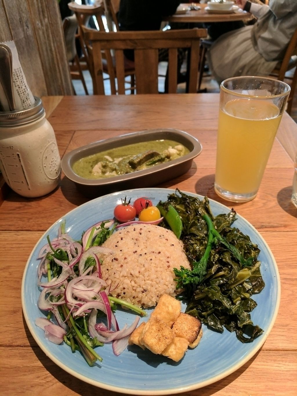 """Photo of Mr. Farmer - Roppongi  by <a href=""""/members/profile/ScottMorley"""">ScottMorley</a> <br/>gluten free vegan curry <br/> March 21, 2017  - <a href='/contact/abuse/image/76848/239063'>Report</a>"""