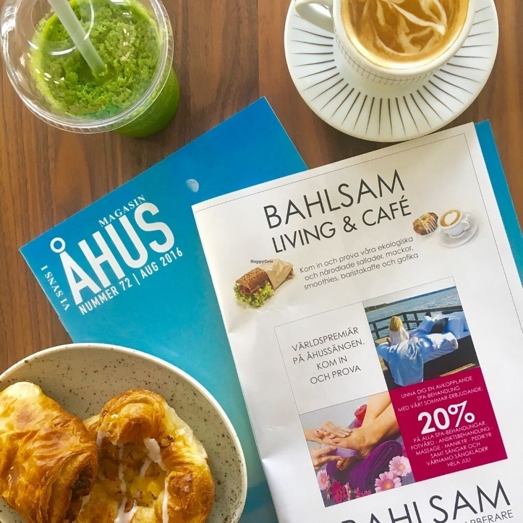 "Photo of Bahlsam Living and Cafe  by <a href=""/members/profile/AmandaBorneke"">AmandaBorneke</a> <br/>Afternoon snack with one of their many magasines <br/> July 20, 2016  - <a href='/contact/abuse/image/76859/161212'>Report</a>"