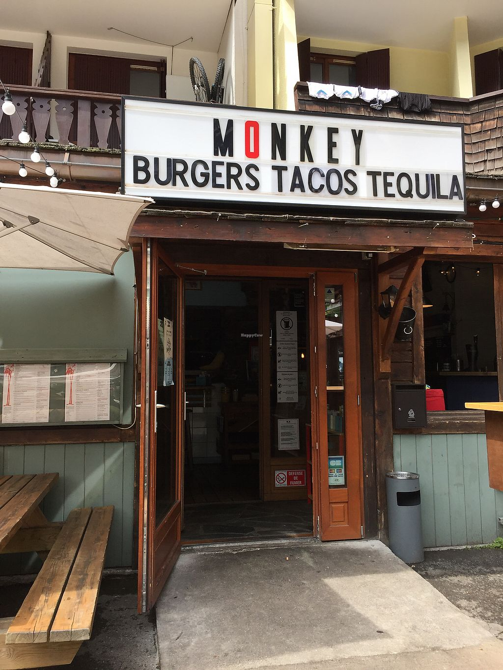 "Photo of Monkey  by <a href=""/members/profile/BeckLauer"">BeckLauer</a> <br/>Burgers, tacos, tequila <br/> August 16, 2017  - <a href='/contact/abuse/image/76874/293253'>Report</a>"