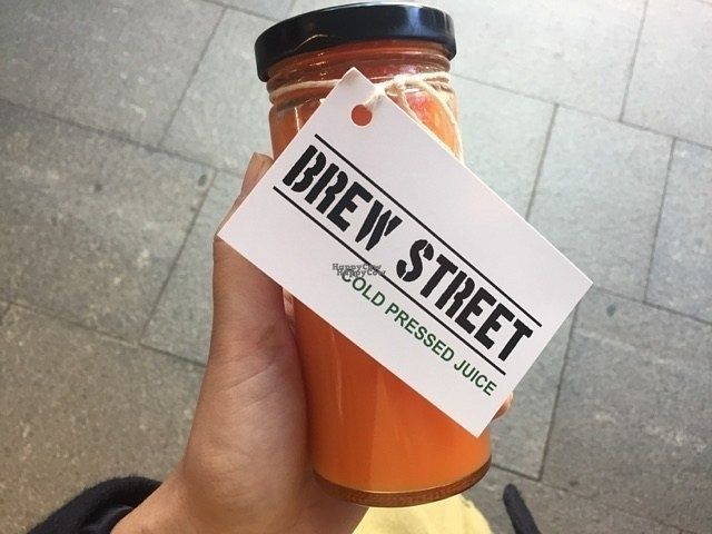"""Photo of Brew Street  by <a href=""""/members/profile/chelseyprior"""">chelseyprior</a> <br/>Cold pressed juice <br/> October 10, 2016  - <a href='/contact/abuse/image/76892/181084'>Report</a>"""