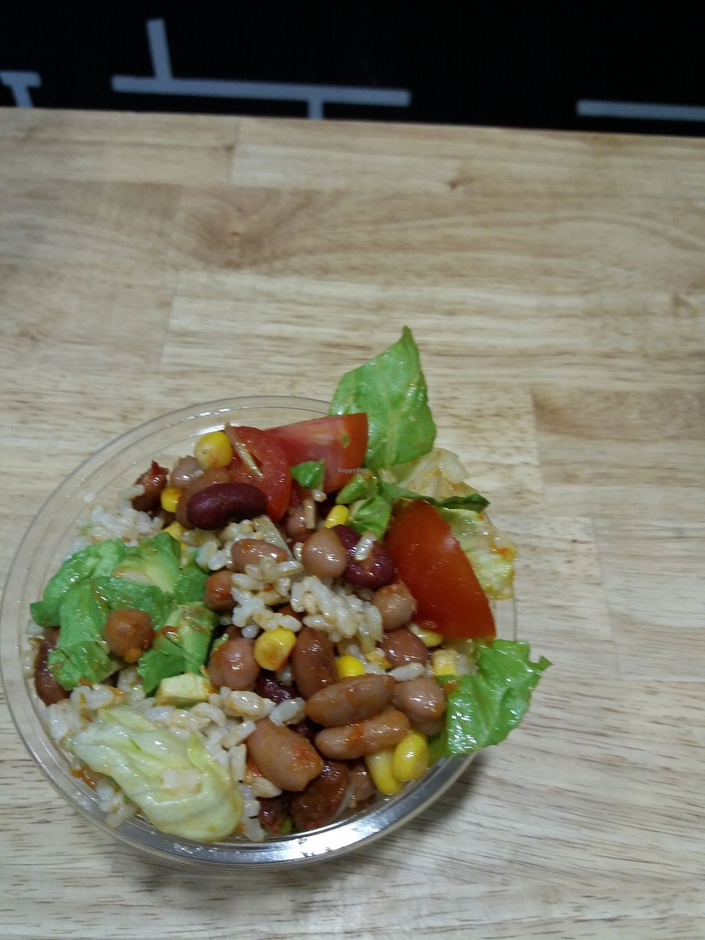 """Photo of Brew Street  by <a href=""""/members/profile/veganvirtues"""">veganvirtues</a> <br/>Kidney bean, corn, brocolli and greens salad <br/> June 27, 2017  - <a href='/contact/abuse/image/76892/273897'>Report</a>"""