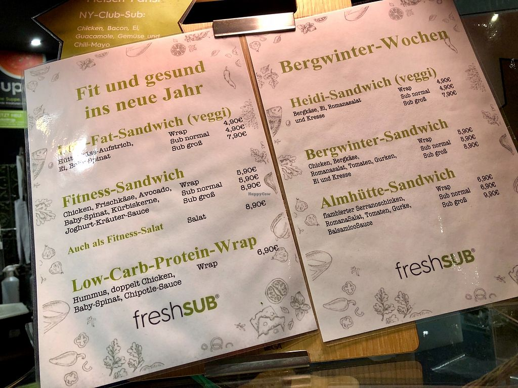 """Photo of Fresh Sub  by <a href=""""/members/profile/marky_mark"""">marky_mark</a> <br/>menu <br/> January 10, 2018  - <a href='/contact/abuse/image/76929/345135'>Report</a>"""