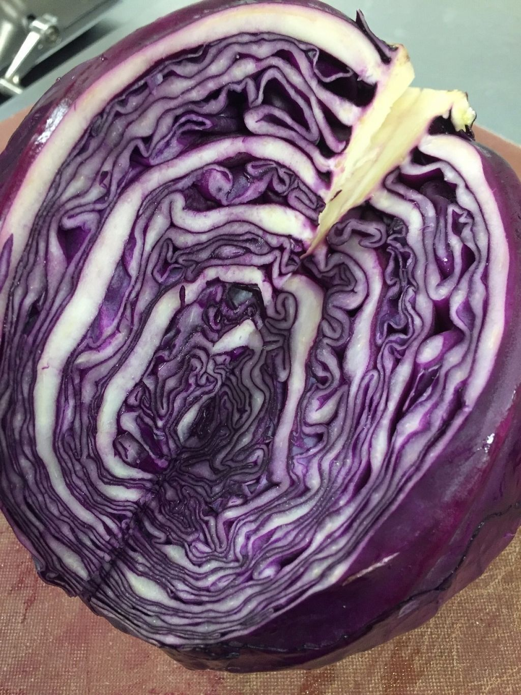 "Photo of Flavor Juicery  by <a href=""/members/profile/UdayPatel"">UdayPatel</a> <br/>Beautiful purple cabbage.  The rich reddishpurple color of red cabbage reflects it