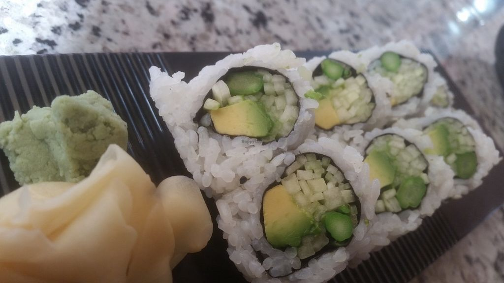 """Photo of Sushi Hunter  by <a href=""""/members/profile/msmayz"""">msmayz</a> <br/>The """"AAC Roll"""" (avocado, asparagus, cucumber) <br/> July 22, 2016  - <a href='/contact/abuse/image/76968/161630'>Report</a>"""