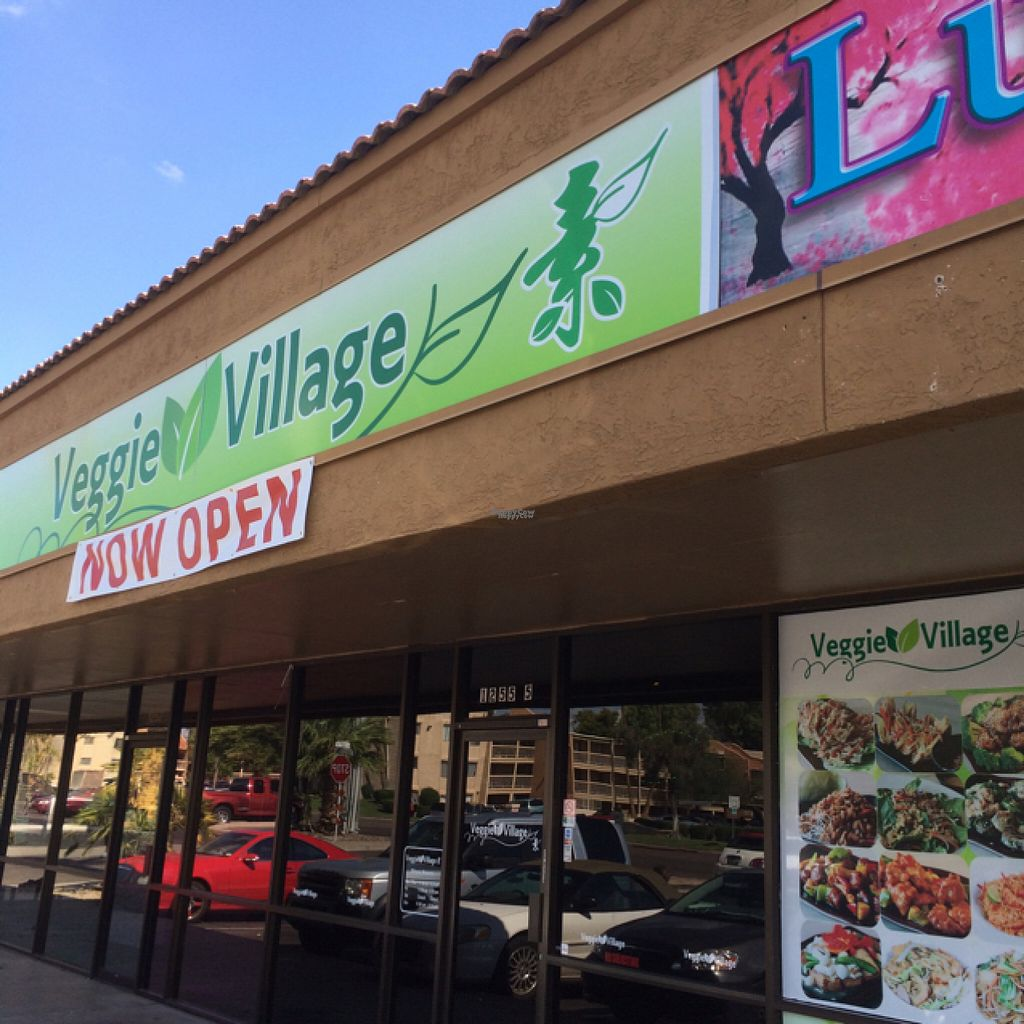 """Photo of Veggie Village  by <a href=""""/members/profile/Speedteq"""">Speedteq</a> <br/>OPEN for Business !! Great food !!! <br/> August 11, 2016  - <a href='/contact/abuse/image/76977/167668'>Report</a>"""