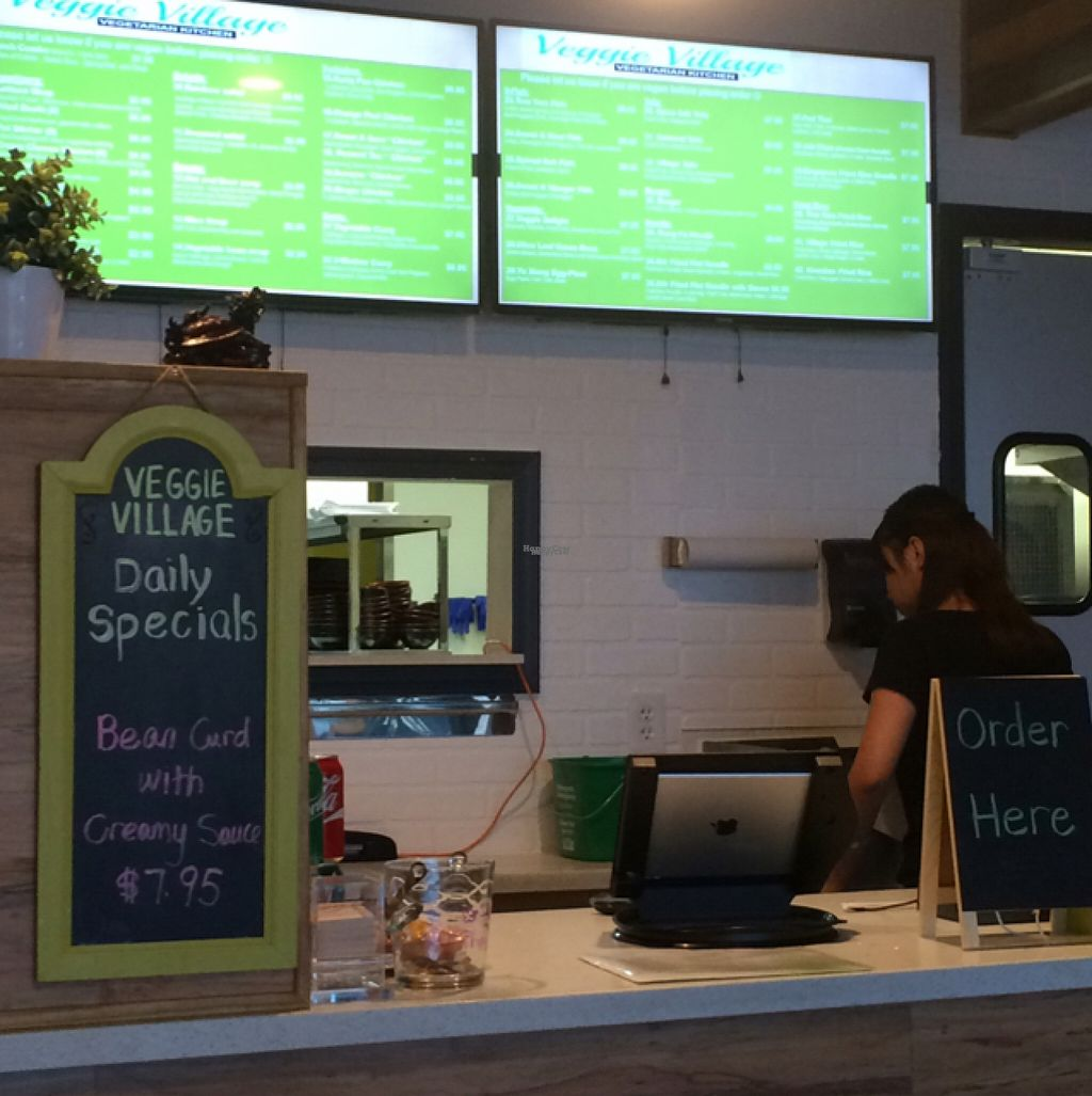"""Photo of Veggie Village  by <a href=""""/members/profile/Speedteq"""">Speedteq</a> <br/>excellent menu , friendly staff !! The best  <br/> August 17, 2016  - <a href='/contact/abuse/image/76977/169562'>Report</a>"""