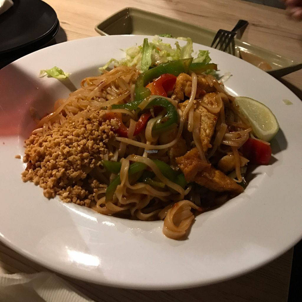 """Photo of Veggie Village  by <a href=""""/members/profile/Tigra220"""">Tigra220</a> <br/>Pad Thai <br/> January 27, 2017  - <a href='/contact/abuse/image/76977/217939'>Report</a>"""