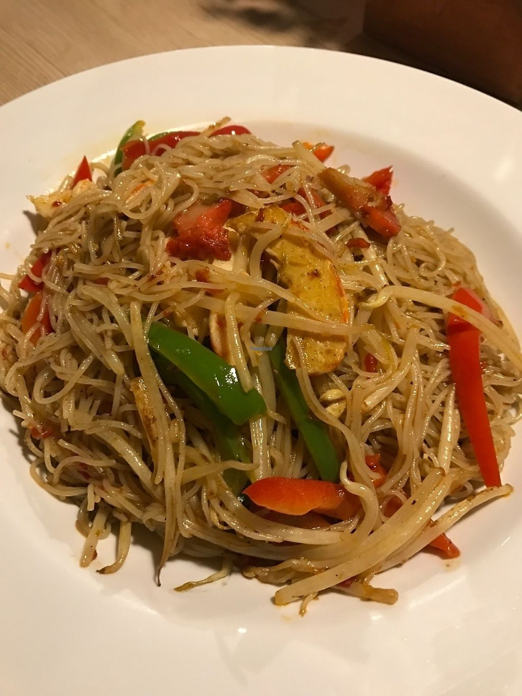"""Photo of Veggie Village  by <a href=""""/members/profile/Tigra220"""">Tigra220</a> <br/>Singapore Fried Rice Noodle <br/> January 27, 2017  - <a href='/contact/abuse/image/76977/217942'>Report</a>"""