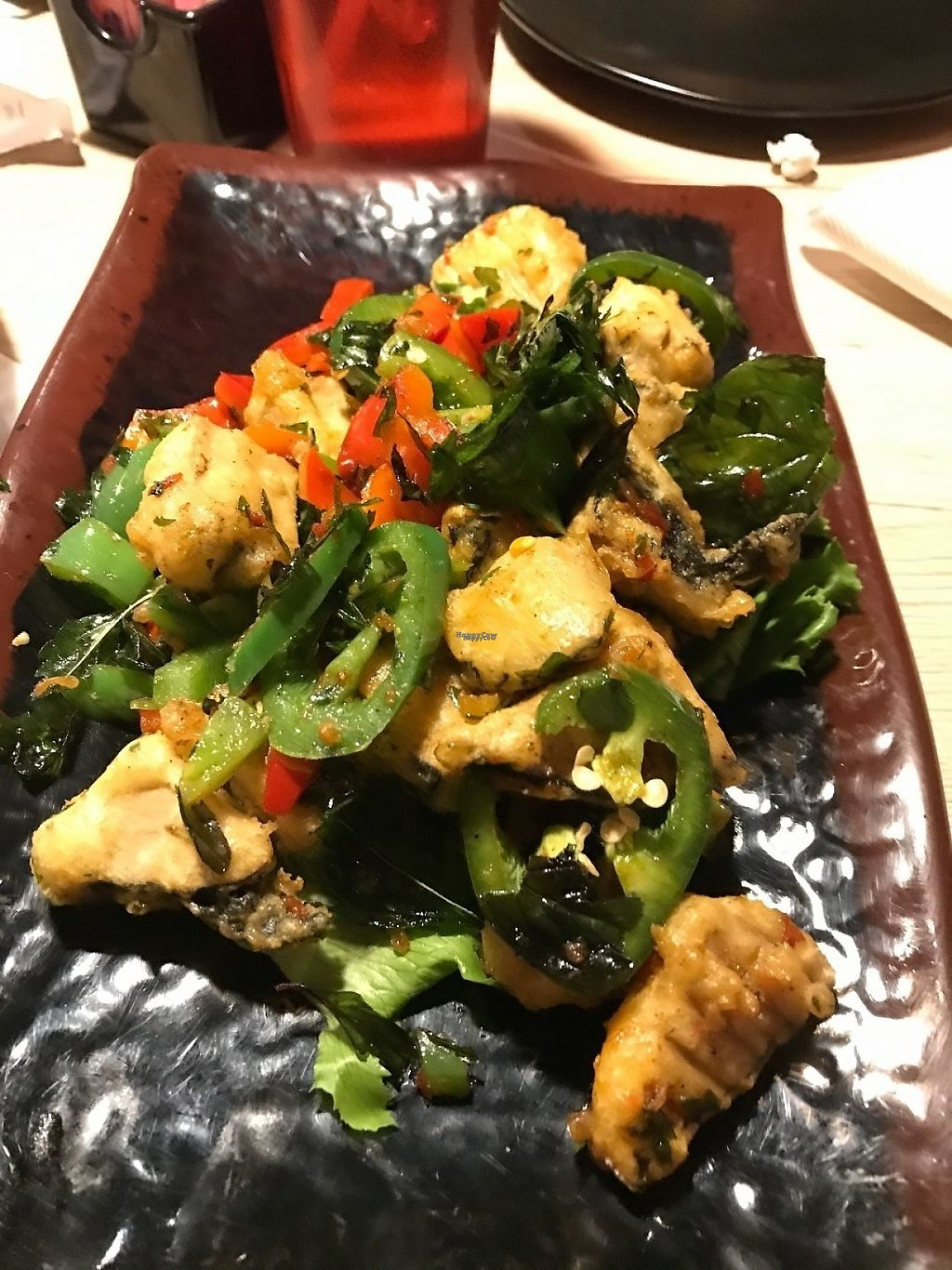 """Photo of Veggie Village  by <a href=""""/members/profile/Tigra220"""">Tigra220</a> <br/>Spiced Salt Fish  <br/> January 27, 2017  - <a href='/contact/abuse/image/76977/217943'>Report</a>"""