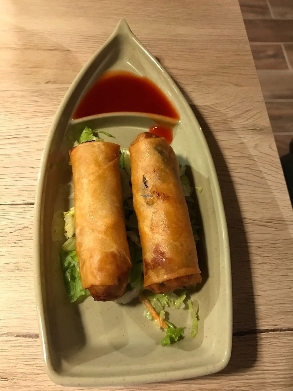 """Photo of Veggie Village  by <a href=""""/members/profile/Tigra220"""">Tigra220</a> <br/>House Spring Rolls <br/> January 27, 2017  - <a href='/contact/abuse/image/76977/217944'>Report</a>"""
