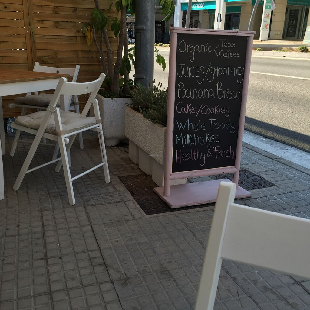 """Photo of Cocos Deli  by <a href=""""/members/profile/KylieJ"""">KylieJ</a> <br/>Small outdoor seating area  <br/> July 28, 2016  - <a href='/contact/abuse/image/76979/162906'>Report</a>"""