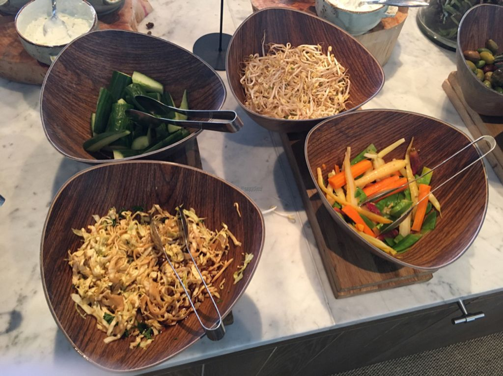 "Photo of Torekov Hotel Bistro  by <a href=""/members/profile/veganmom"">veganmom</a> <br/>salads, bean sprouts and cucumber  <br/> August 2, 2016  - <a href='/contact/abuse/image/76990/164526'>Report</a>"