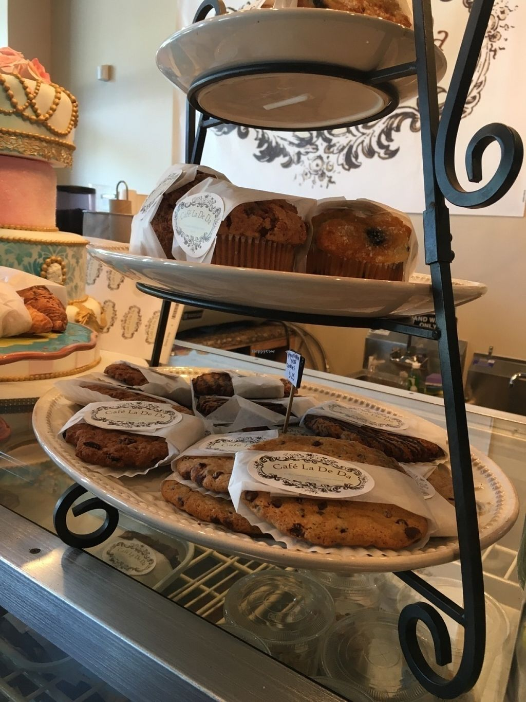 """Photo of Cafe la De Da   by <a href=""""/members/profile/Cafeladeda1"""">Cafeladeda1</a> <br/>Vegan gluten free cookies, biscotti, brownies and crumb cake  <br/> July 23, 2016  - <a href='/contact/abuse/image/77003/161790'>Report</a>"""