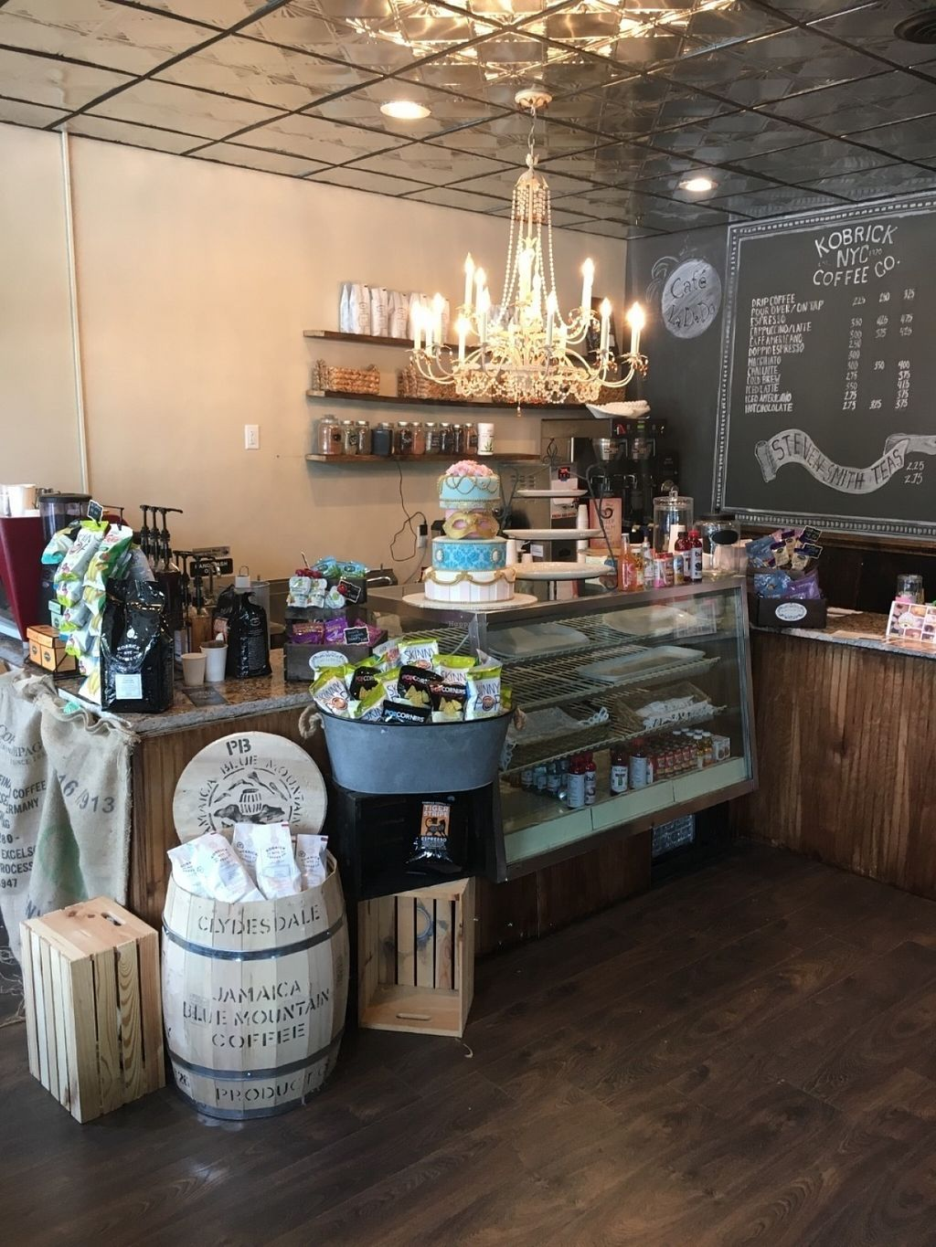 """Photo of Cafe la De Da   by <a href=""""/members/profile/Cafeladeda1"""">Cafeladeda1</a> <br/>Wifi, seating and  vegan and gluten free lunch items available  <br/> July 23, 2016  - <a href='/contact/abuse/image/77003/161791'>Report</a>"""