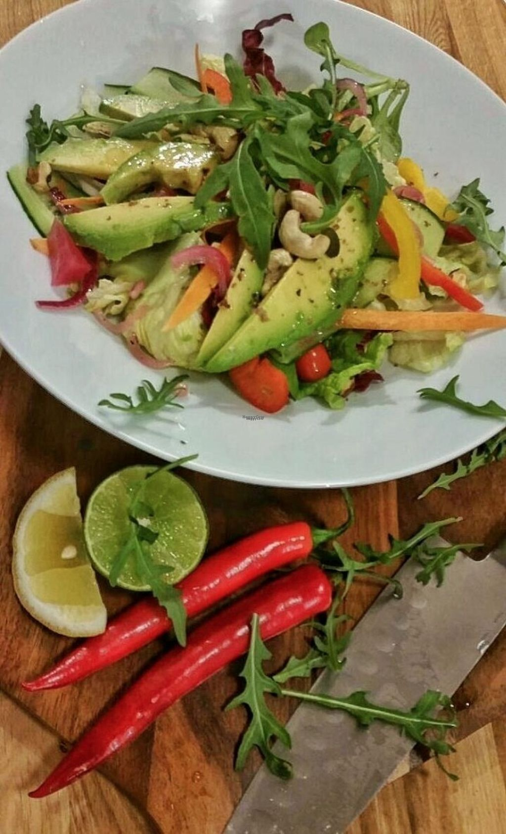 """Photo of Zeytuun  by <a href=""""/members/profile/community"""">community</a> <br/>avocado salad  <br/> August 5, 2016  - <a href='/contact/abuse/image/77024/165617'>Report</a>"""