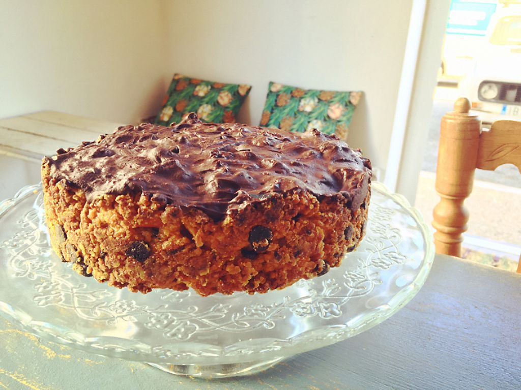 """Photo of Blatpicat  by <a href=""""/members/profile/veganthing"""">veganthing</a> <br/>vegan carrot&choco cake  <br/> March 21, 2017  - <a href='/contact/abuse/image/77032/239140'>Report</a>"""