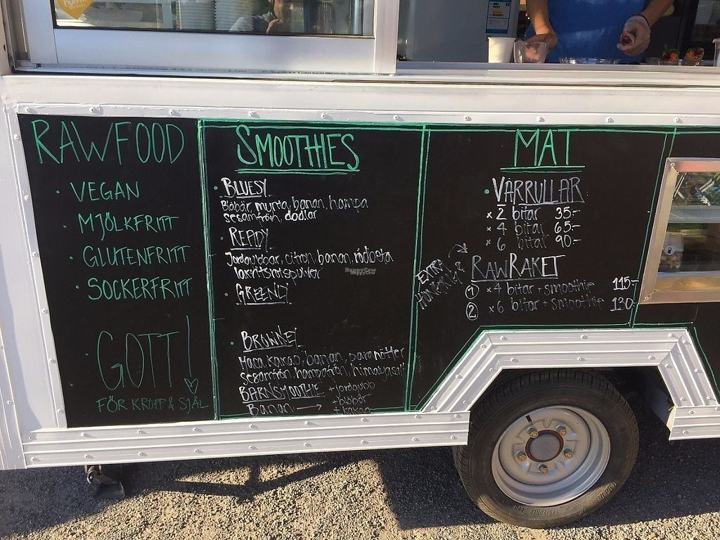 """Photo of Rawstation - Food Truck  by <a href=""""/members/profile/Pons"""">Pons</a> <br/>Menu summer 2016 <br/> April 3, 2017  - <a href='/contact/abuse/image/77044/244326'>Report</a>"""