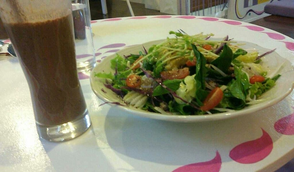 "Photo of CLOSED: Yoga House & Spa  by <a href=""/members/profile/stix1776"">stix1776</a> <br/>avocado salad and chocolate chia shake  <br/> February 18, 2017  - <a href='/contact/abuse/image/77054/227867'>Report</a>"