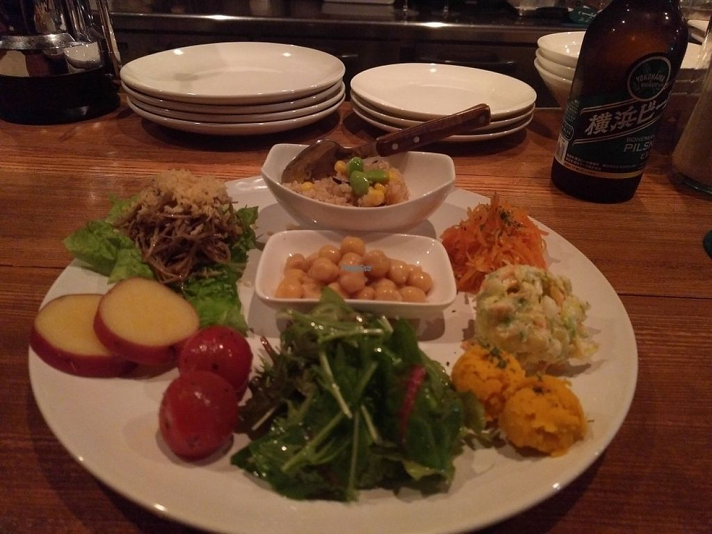 """Photo of Haretoke  by <a href=""""/members/profile/kgrizzle"""">kgrizzle</a> <br/>Veggie Plate <br/> April 16, 2017  - <a href='/contact/abuse/image/77070/248836'>Report</a>"""