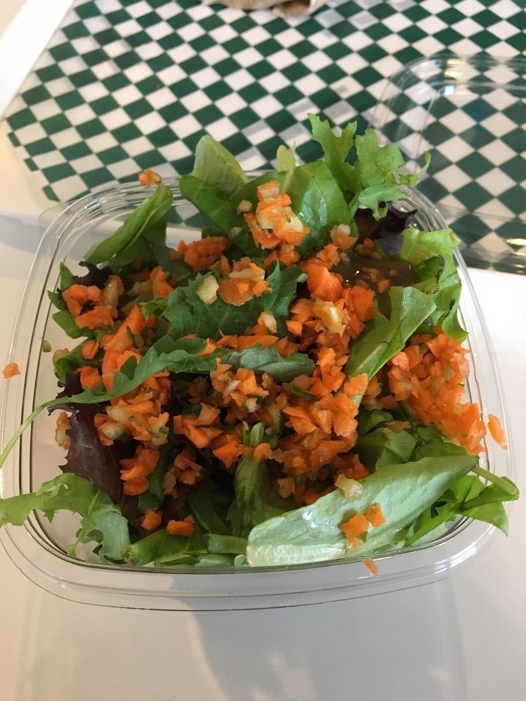 """Photo of CLOSED: Gojigo  by <a href=""""/members/profile/vegan%20frog"""">vegan frog</a> <br/>Salad <br/> October 22, 2016  - <a href='/contact/abuse/image/77074/183523'>Report</a>"""