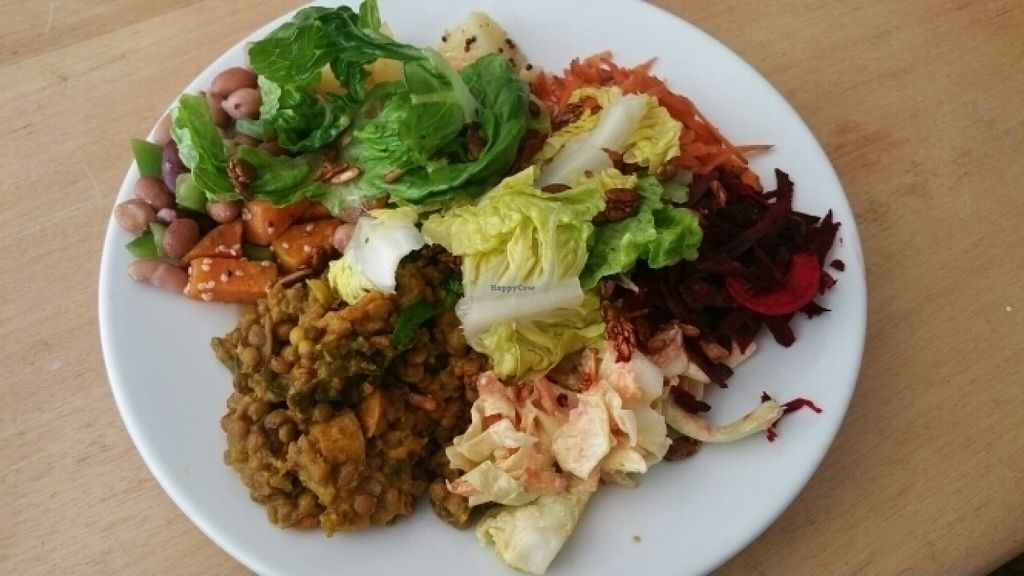 """Photo of Cafe Gratitude  by <a href=""""/members/profile/choose-vegan"""">choose-vegan</a> <br/>Chard Dhal <br/> July 26, 2016  - <a href='/contact/abuse/image/77075/162368'>Report</a>"""